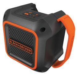 Black and Decker - 20V MAX Wireless Bluetooth Speaker w AC Power - BDBTS20B
