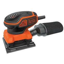 Black and Decker - 14 Sheet Orbital Sander with Paddle Switch Actuation - BDEQS300