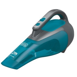 Black and Decker - dustbuster Hand Vacuum WetDry Titanium and Aqua - HWVI225J01