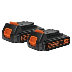 Black and Decker - 20V MAX Lithium Ion Battery 2Pack - LBXR20B-2