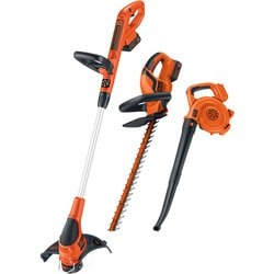 Black and Decker - 20V MAX Lithium Ion Combo Kit  Trimmer Sweeper Hedge - LC3K220