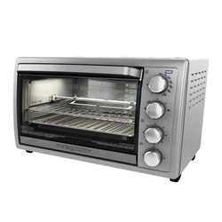 Black and Decker - 6Slice Rotisserie Oven - TO4314SSD