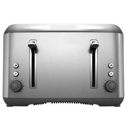 Black and Decker - 4 Slice Toaster - TR6490SKT