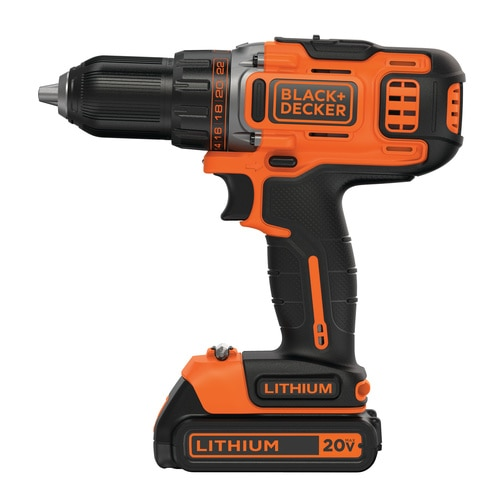 Black and Decker - 20V MAX Lithium 2Speed 12 in DrillDriver - BDCDHP220SB-2