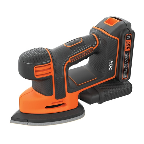 Black and Decker - 20V MAX MOUSE Cordless Sander - BDCMS20C