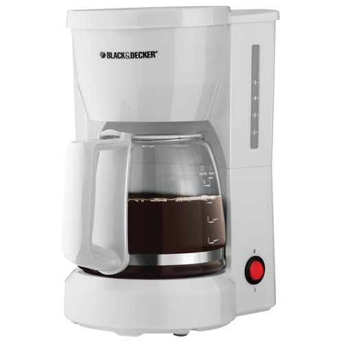 Black and Decker - 5Cup Coffeemaker - DCM600WC
