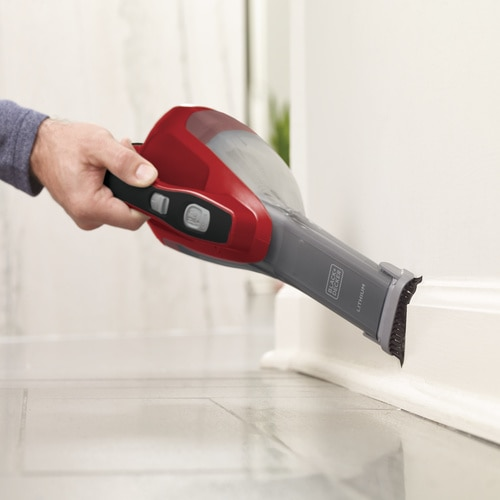 Black and Decker - dustbuster Hand Vacuum Chili Red - HLVA320J26