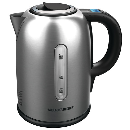 Black and Decker - 17L Stainless Steel Digital Kettle - KE5030SKT