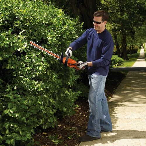 Black and Decker - 20V MAX Lithium 22 inch Hedge Trimmer  Battery and Charger Not Included - LHT2220B