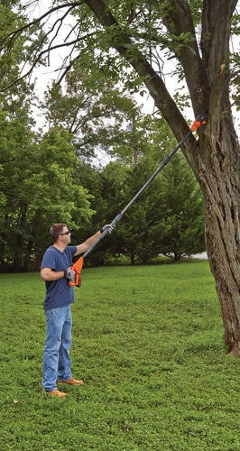 Black and Decker - 20V MAX Lithium Pole Pruning Saw - LPP120