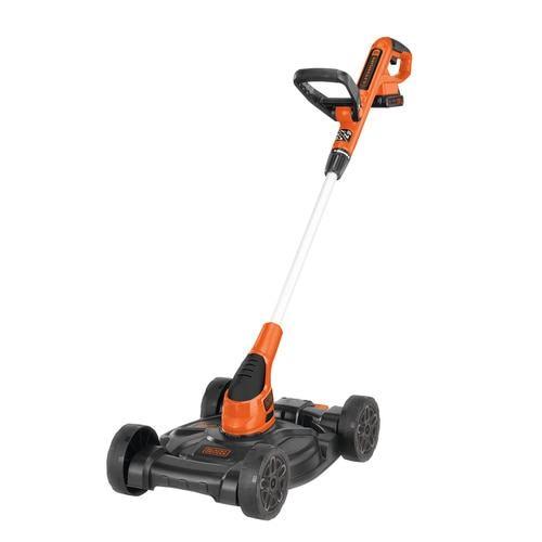 Black and Decker - 20V MAX Lithium 12 inch 3in1 Compact Mower - MTC220