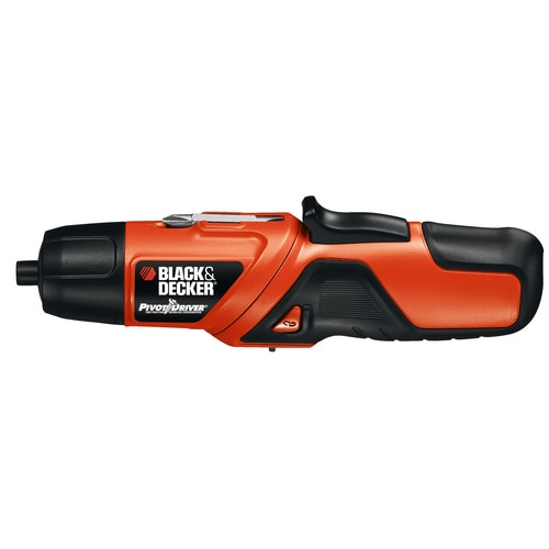 Black and Decker - PIVOTDRIVER Rechargeable Screwdriver - PD400LG