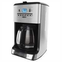 Black and Decker - 12 Cup Programmable CoffeemakerTea Maker - CM3005SC