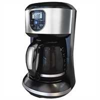 Black and Decker - 12Cup Coffeemaker - CM4000SC