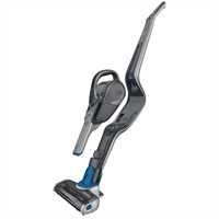 Black and Decker - Cordless Lithium 2IN1 Stick Vacuum Titanium wDeep Ocean Blue Accents - HSVJ520JMBF61