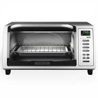 Black and Decker - 4 Slice Toaster Oven - TO1380SKT