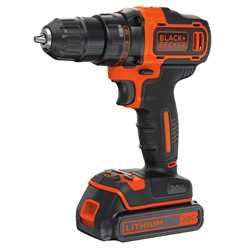 Black and Decker - Perceusevisseuse  2 vitesses au lithium 20V MAX - BDCDD220C