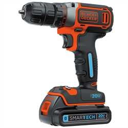 Black and Decker - SMARTECH 20V MAX Lithium Cordless DrillDriver - BDCDDBT120C