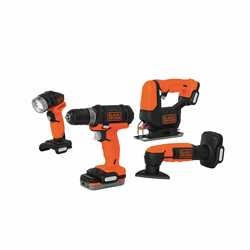 Black and Decker - GoPak 4Tool Combo Kit - BDCK502C1