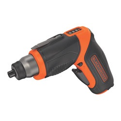 Black and Decker - 4V MAX Lithium Pivot Screwdriver with Accessories - BDCS40BI