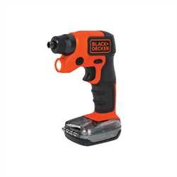 Black and Decker - 4V MAX Lithium Ion LightDriver Cordless Screwdriver with Storage Pak - BDCSFS30C