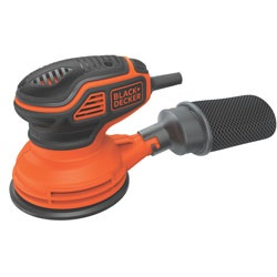 Black and Decker - 5inch Random Orbital Sander - BDERO600