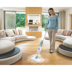 Black and Decker - SteamMop with Smart Select Technology - BDH1720SM