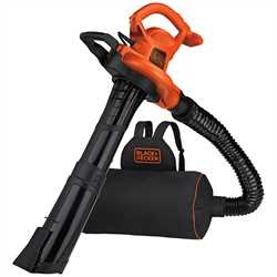 Black And Decker - 3in1 VACPACK 12 Amp Leaf Blower Vacuum and Mulcher - BEBL7000