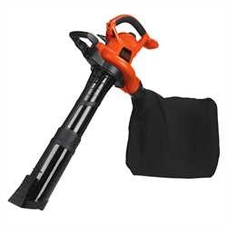 Black and Decker - High Performance BlowerVacMulcher - BV6000