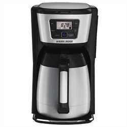 Black and Decker - 12Cup Programmable Thermal Coffeemaker - CM2035BCKT