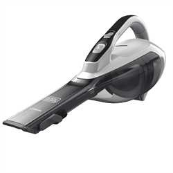 Black and Decker - dustbuster Hand Vacuum Powder White with Scent - HLVA320JS10