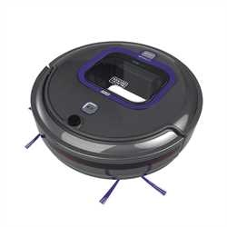 Black and Decker - PET Lithium Robotic Vacuum with LED and SMARTECH - HRV425BLP