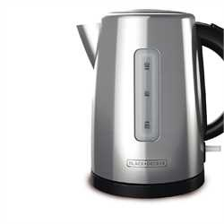 Black and Decker - 17L Stainless Steel Electric Kettle - KE2000SD