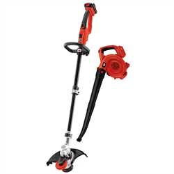 Black and Decker - 20V MAX String Trimmer   Sweeper Lithium Ion Combo Kit - LCC420
