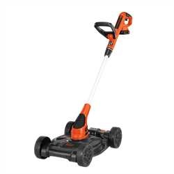 Black And Decker - 20V MAX Lithium 12 in 3in1 Compact Mower - MTC220