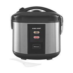 Black and Decker - 12Cup Rice Cooker - RC1412S