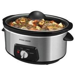 Black and Decker - Stainless Steel Slow Cooker - SL5470C