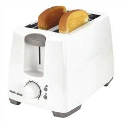Black and Decker - 2Slice Toaster - T2101C