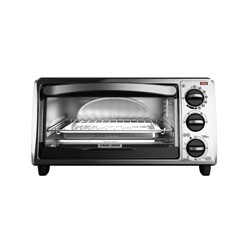 Black and Decker - 4Slice Toaster Oven - TO1313SBD