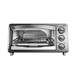 Black and Decker - 4Slice Toaster Oven - TO1313SWD