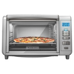 Black and Decker - 6Slice DiningIn Digital Countertop Oven - TO3280SSD