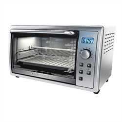 Black and Decker - 6 Slice Digital Convection Oven with Rotisserie - TO4211SKT