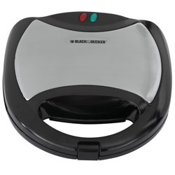 Black and Decker - 2 Serving MultiPlate Waffle Maker - WG1041WC