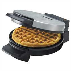 Black and Decker - 725 Round Waffle Maker - WMB505C