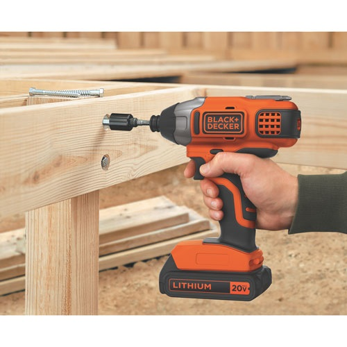 Black and Decker - 20V MAX Lithium Impact Driver - BDCI20C
