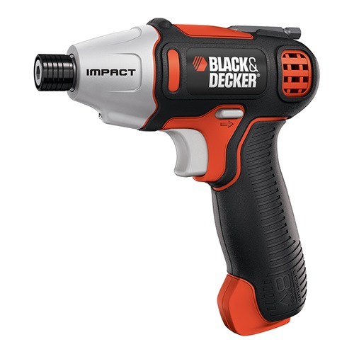 Black and Decker - 8V MAX Impact Screwdriver - BDCS80I