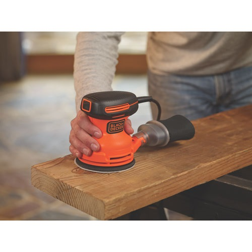 Black and Decker - 5inch Random Orbital Sander - BDERO100