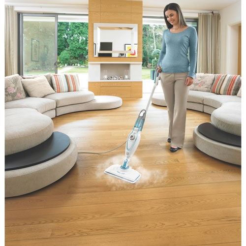 Black and Decker - SteamMop with Smart Select Technology - BDH1725SM
