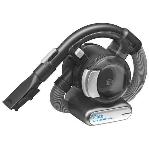 Black and Decker - 20V MAX Lithium Flex Vac with Floor Head  Pet Hair Brush - BDH2020FLFH