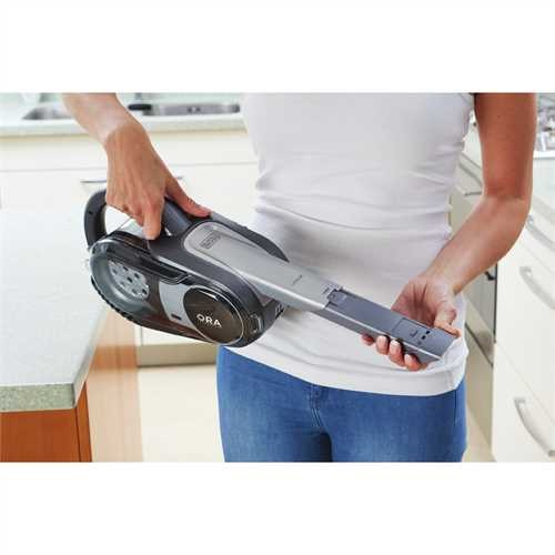 Black and Decker - 24V MAX Lithium Stick Vac with ORA Technology - BDH2400FH